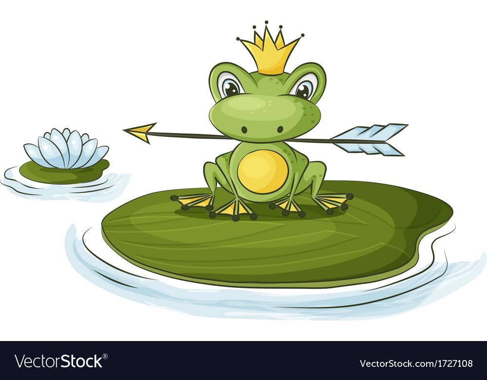 Princess frog vector | Price: 1 Credit (USD $1)