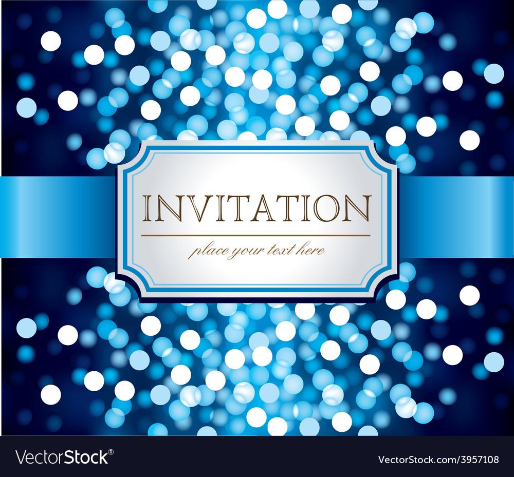 Template frame design for invitation vector   Price: 3 Credit (USD $3)