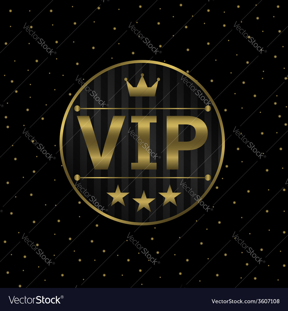 Vip icon vector   Price: 1 Credit (USD $1)