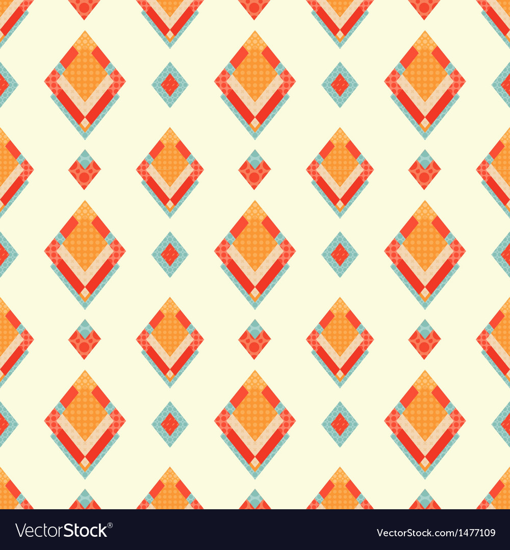 Abstract geometric retro background with vector | Price: 1 Credit (USD $1)