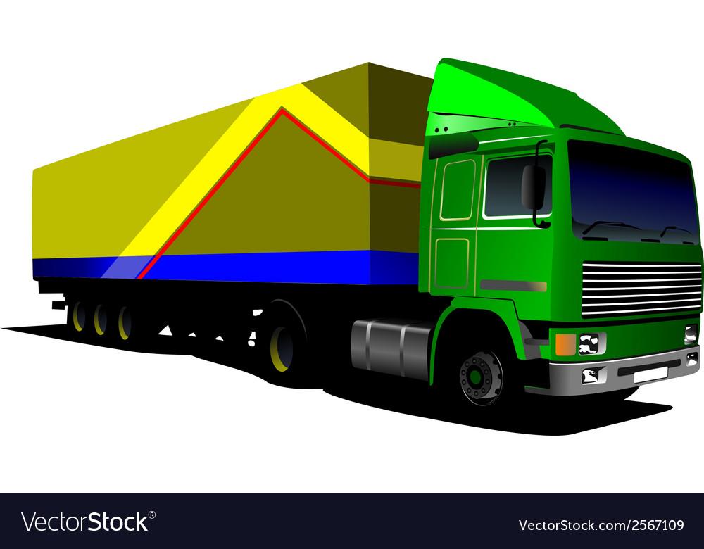 Al 0407 truck 02 vector   Price: 1 Credit (USD $1)