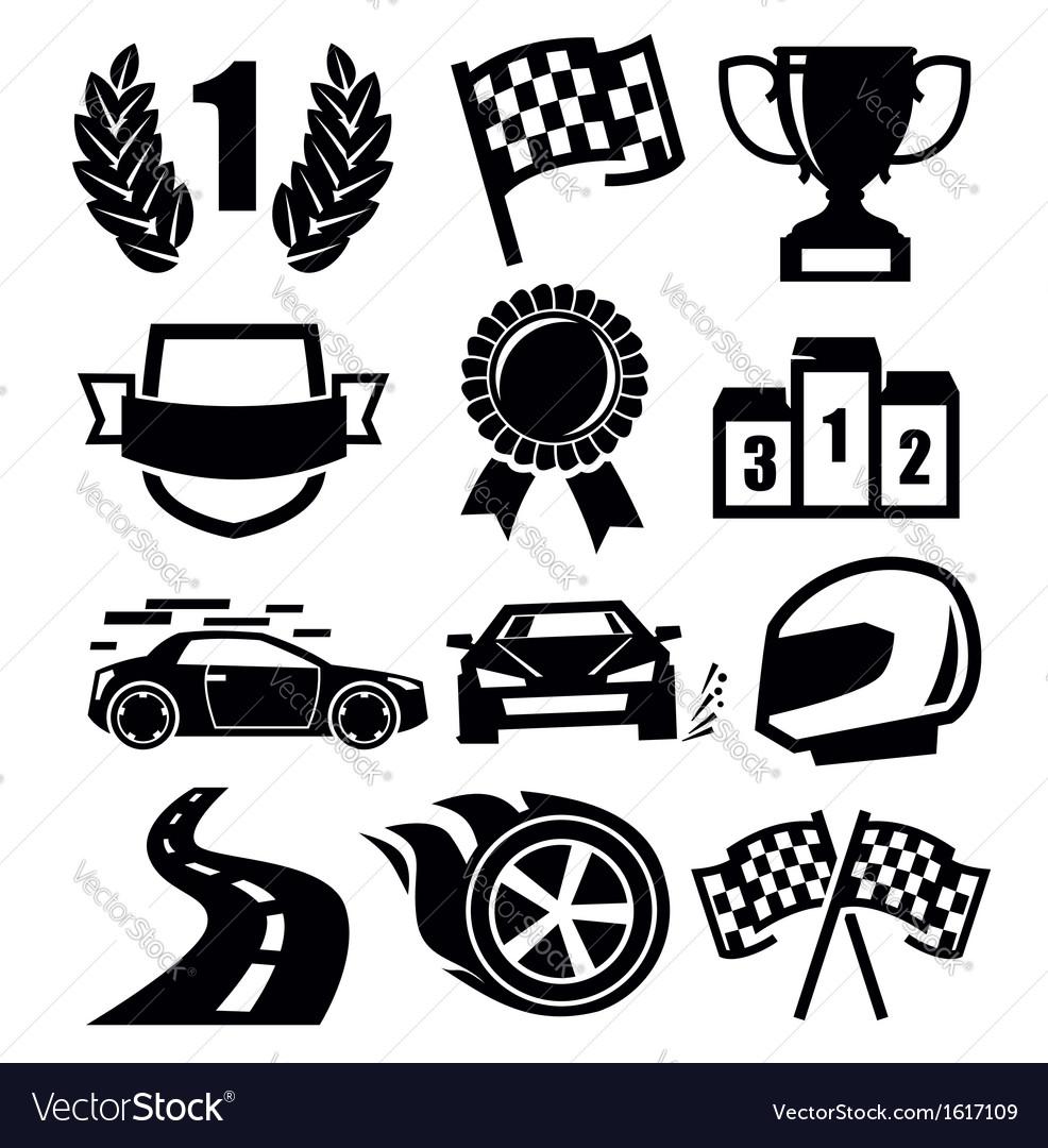 Auto icons vector | Price: 1 Credit (USD $1)