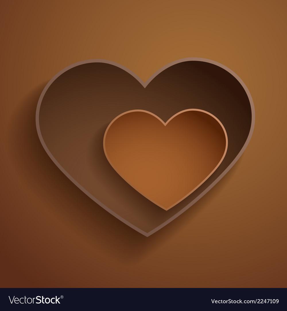 Chocolate hearts vector   Price: 1 Credit (USD $1)