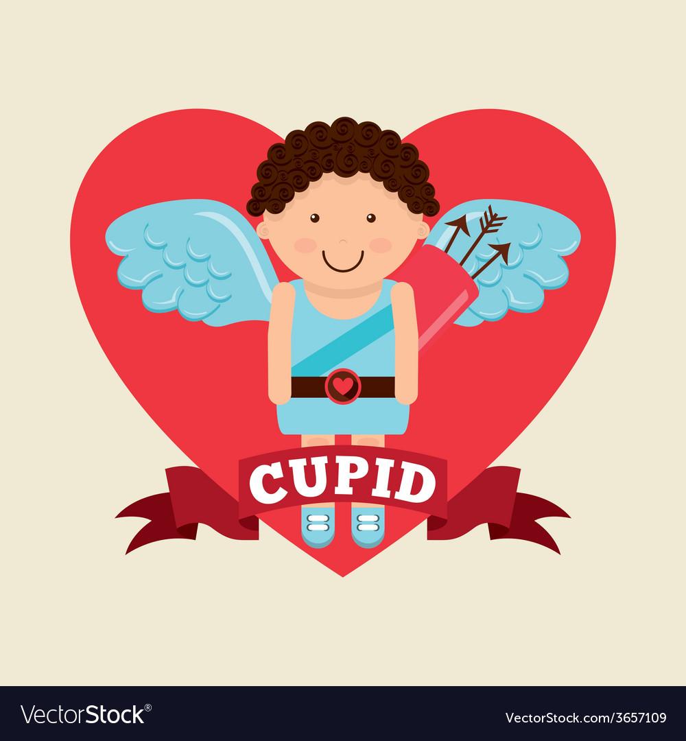 Cupid cute vector | Price: 1 Credit (USD $1)