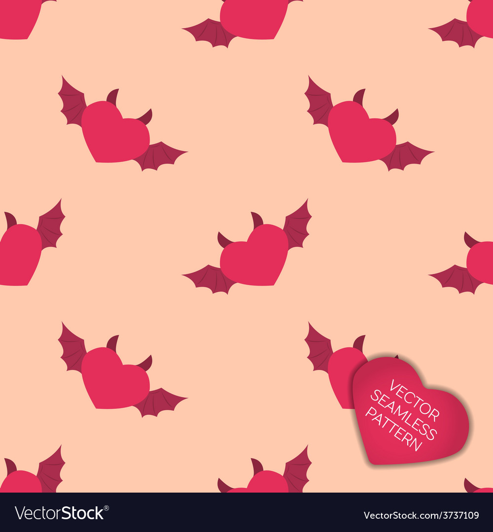 Happy valentines day collection background vector | Price: 1 Credit (USD $1)