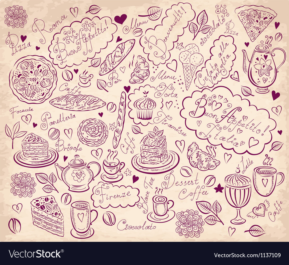 Pattern menu vector | Price: 1 Credit (USD $1)