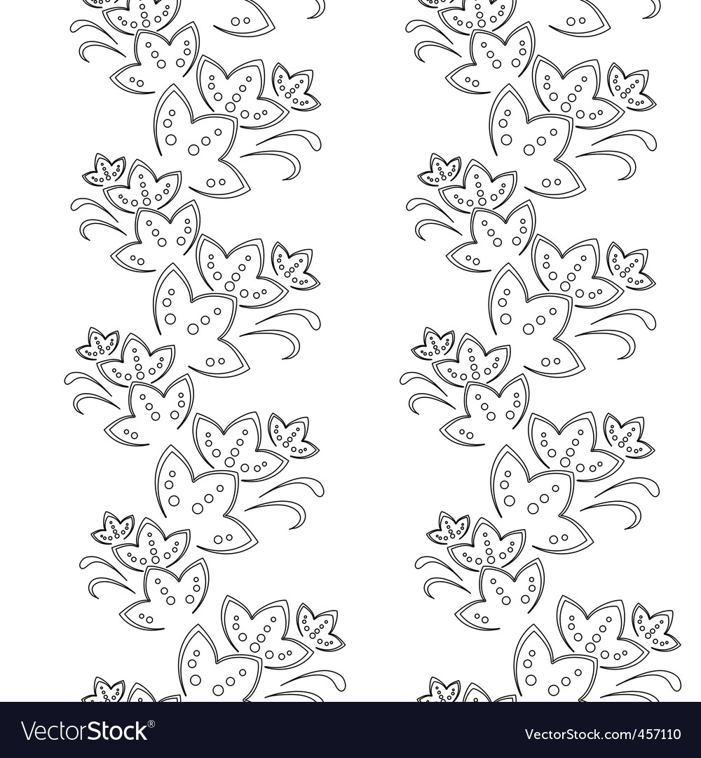 Flower background vector | Price: 1 Credit (USD $1)