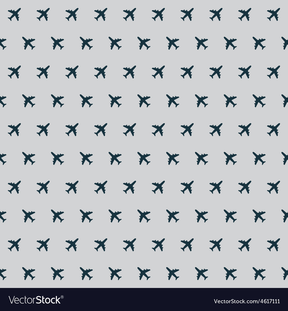 Airplane background pattern vector | Price: 1 Credit (USD $1)