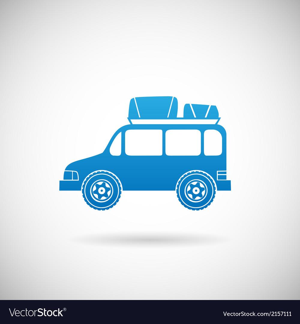Auto travel symbol car icon design template vector | Price: 1 Credit (USD $1)