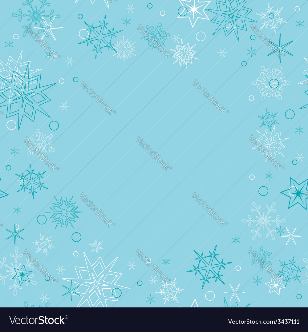 Background - light blue christmas card vector | Price: 1 Credit (USD $1)