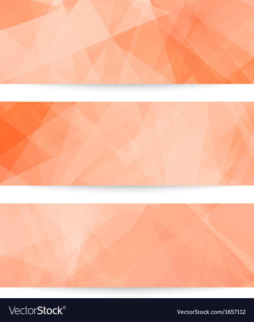 Collection banners vector | Price: 1 Credit (USD $1)