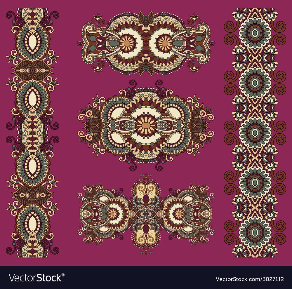Ornamental floral adornment vector   Price: 1 Credit (USD $1)