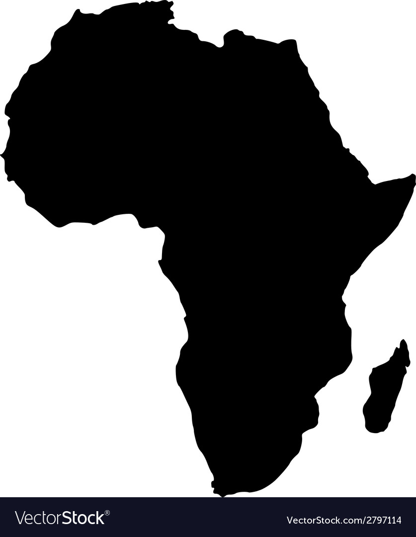 Map of africa vector   Price: 1 Credit (USD $1)