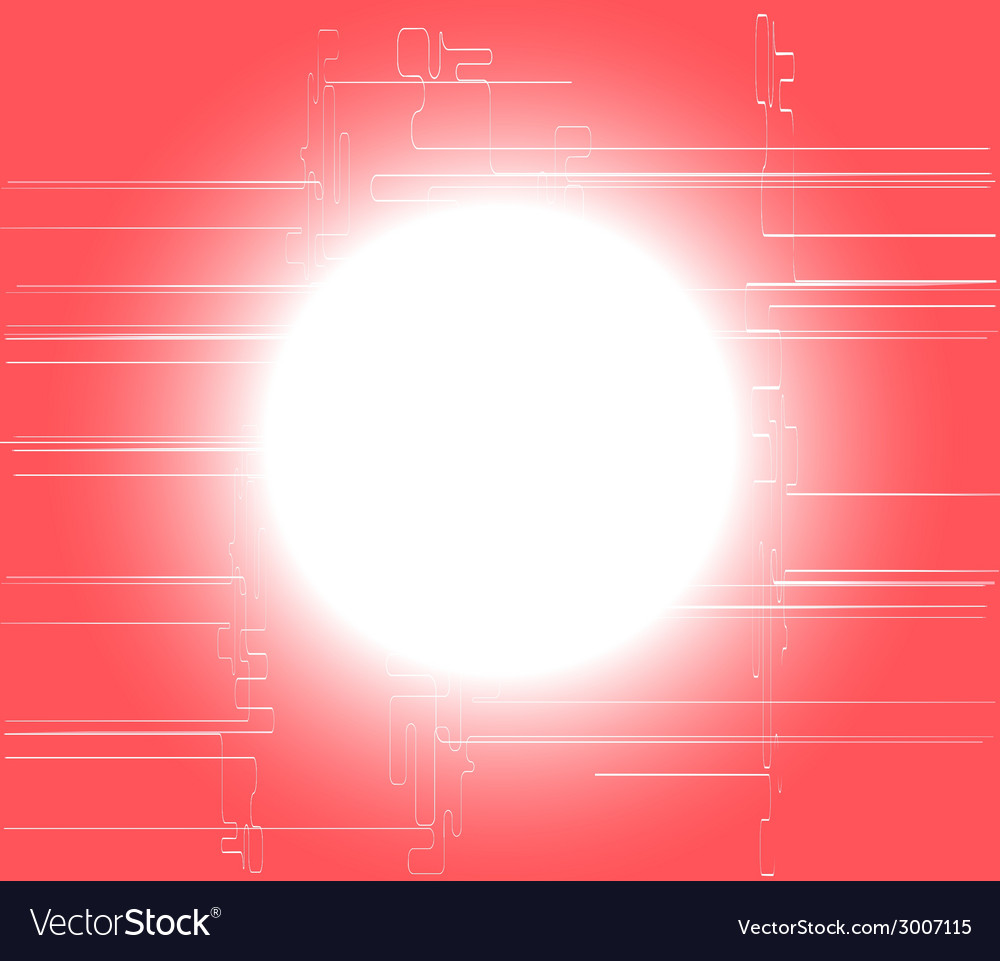 Pink circle light technology background vector | Price: 1 Credit (USD $1)