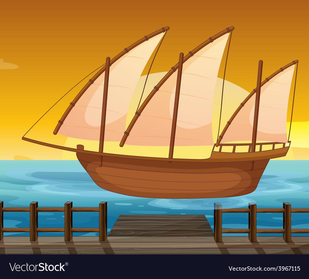Ship vector | Price: 1 Credit (USD $1)