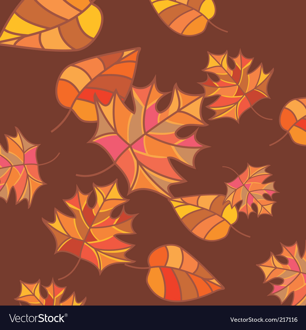 Abstract autumn background vector | Price: 1 Credit (USD $1)