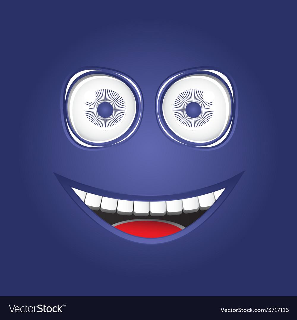 Funny smile vector | Price: 1 Credit (USD $1)