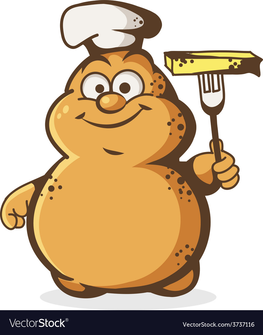 Potato cook vector | Price: 1 Credit (USD $1)