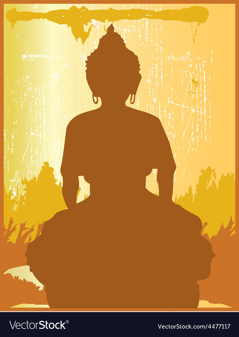 Buddha design vector | Price: 1 Credit (USD $1)
