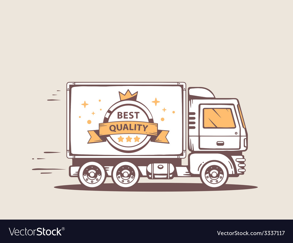 Truck free and fast delivery of best qual vector | Price: 3 Credit (USD $3)