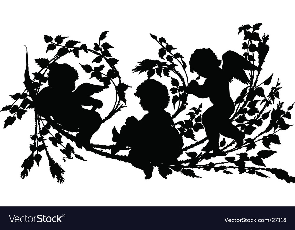 Cherubs vector | Price: 1 Credit (USD $1)