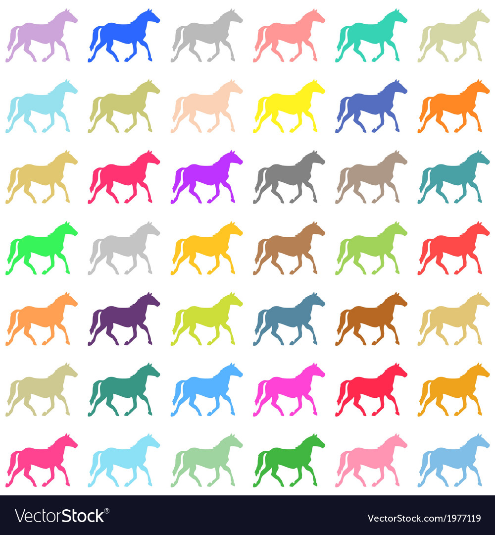 Horses backgrounds1 vector | Price: 1 Credit (USD $1)