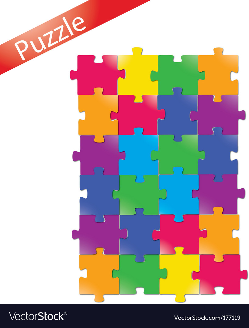 Puzzle vector | Price: 1 Credit (USD $1)