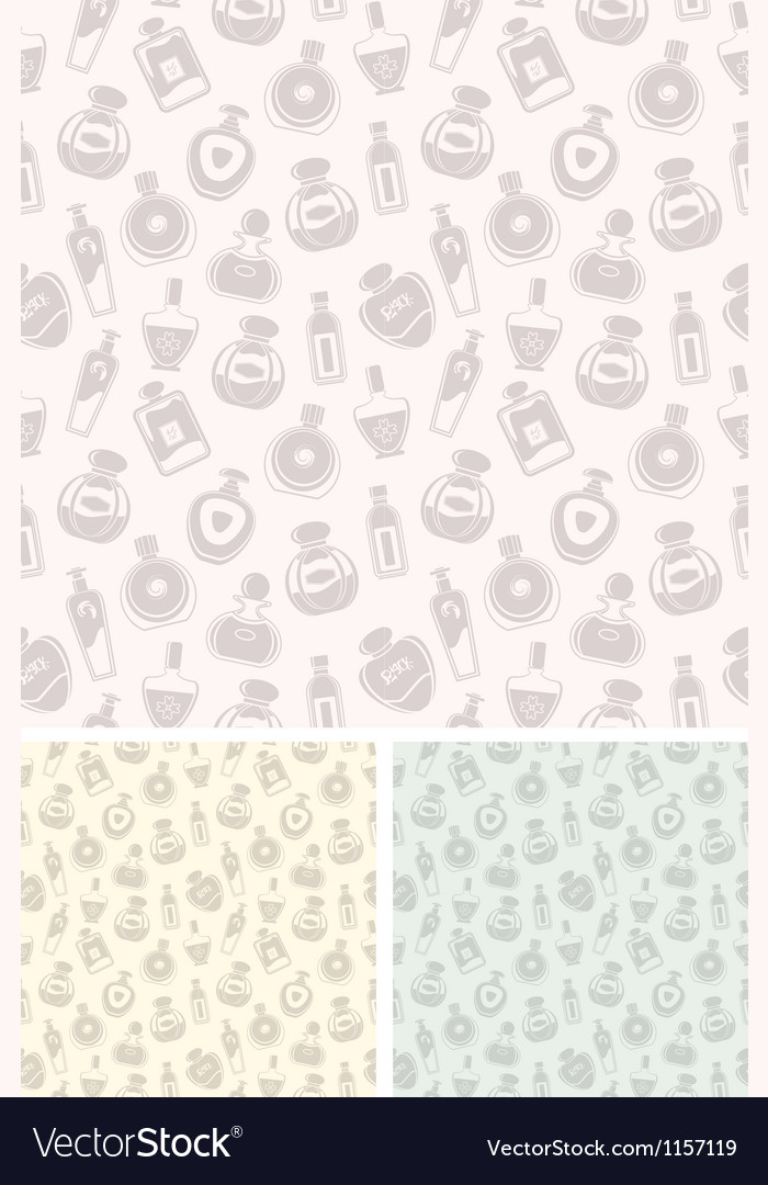 Seamless perfumes pattern vector | Price: 1 Credit (USD $1)