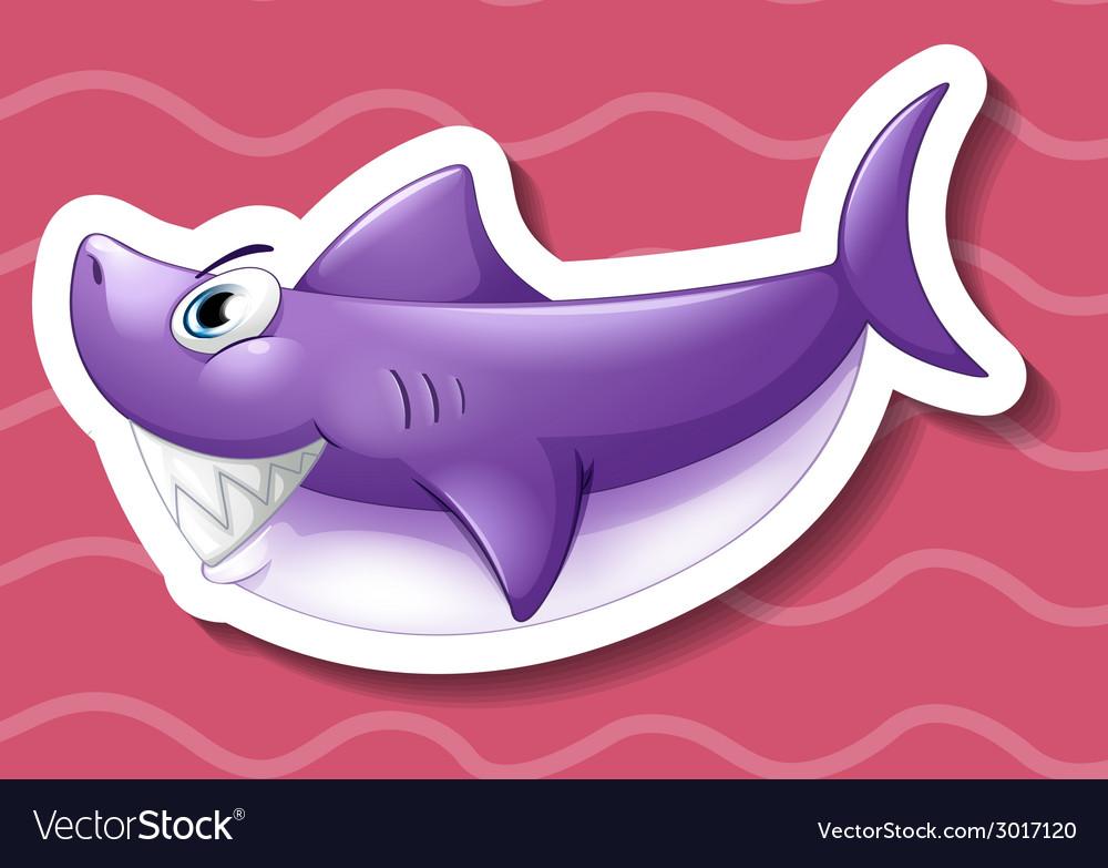 Shark vector | Price: 1 Credit (USD $1)