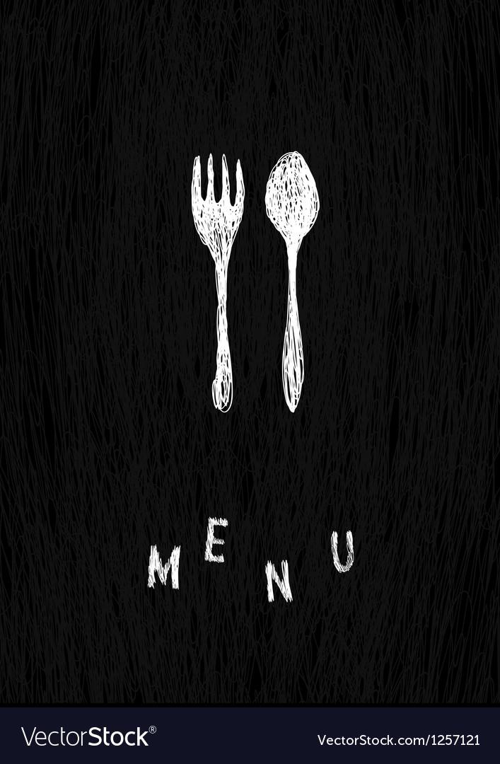 Creative menu template vector | Price: 1 Credit (USD $1)