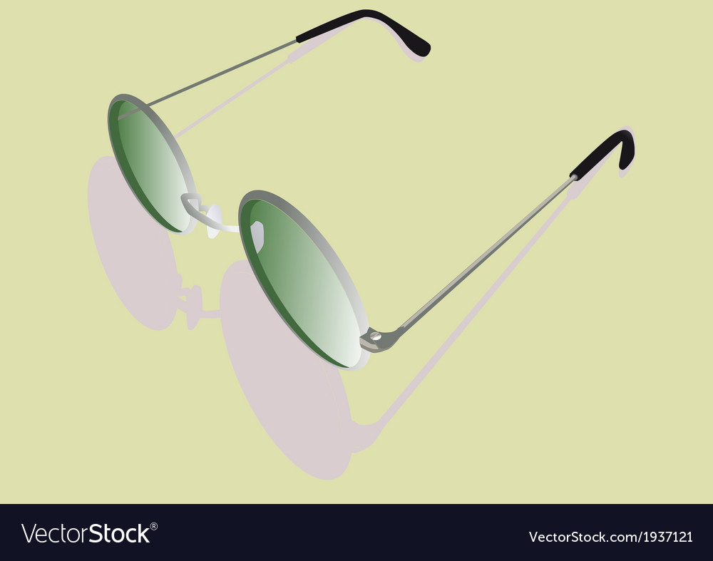 Pair of glasses vector | Price: 1 Credit (USD $1)