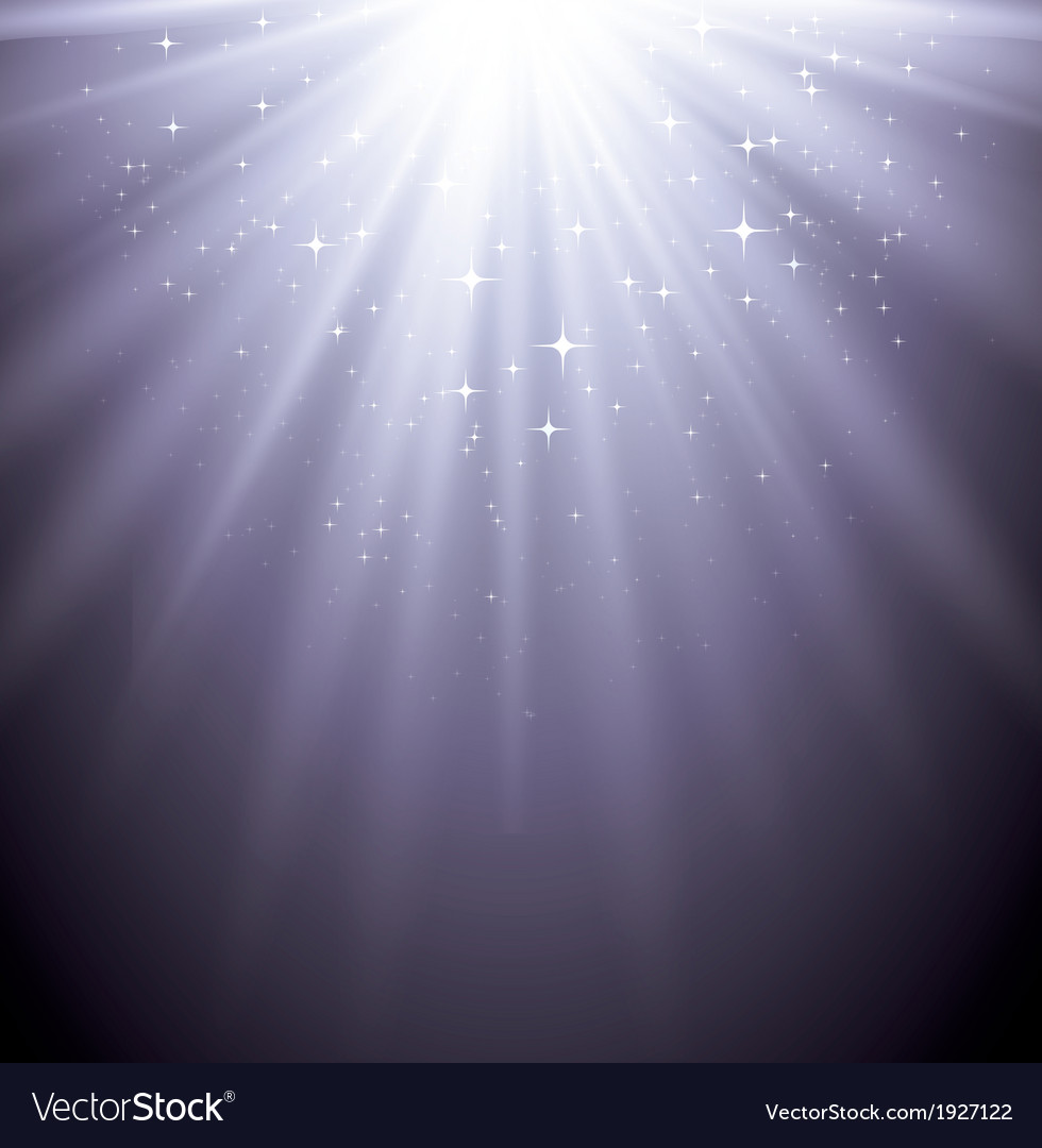 Abstract magic light backgroud with star vector | Price: 1 Credit (USD $1)