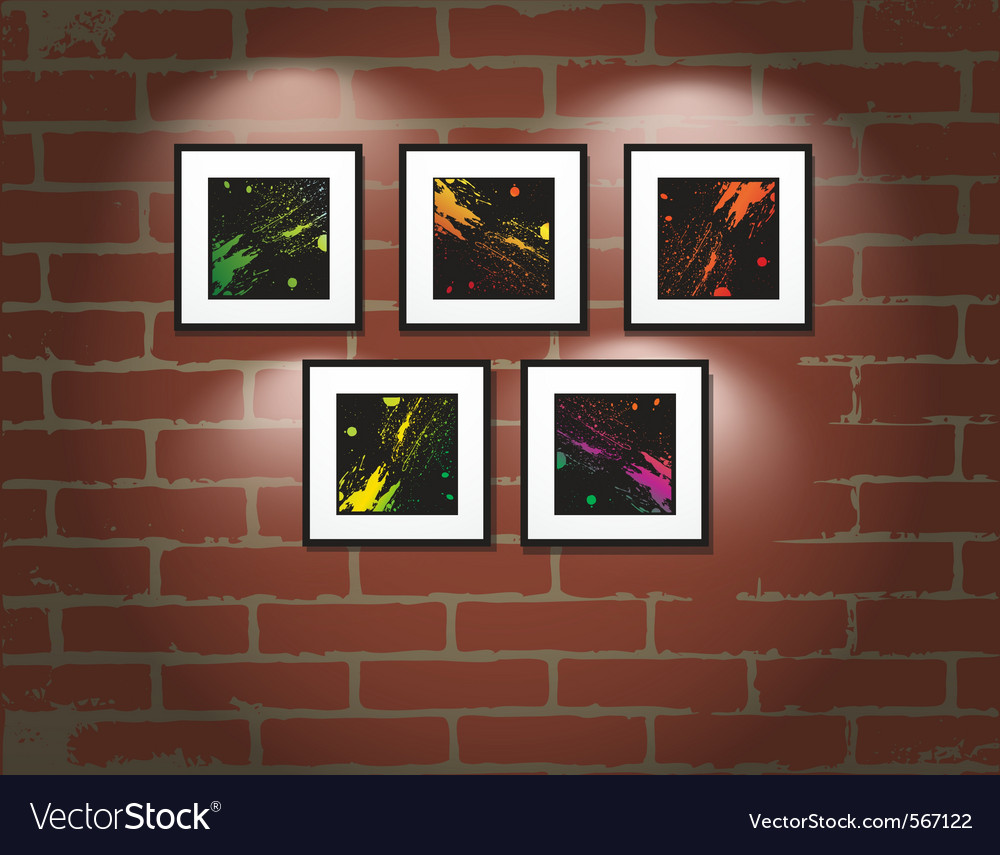 Art gallery vector | Price: 1 Credit (USD $1)