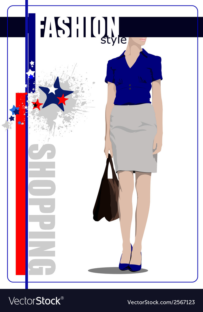 Al 0412 shopping vector | Price: 1 Credit (USD $1)