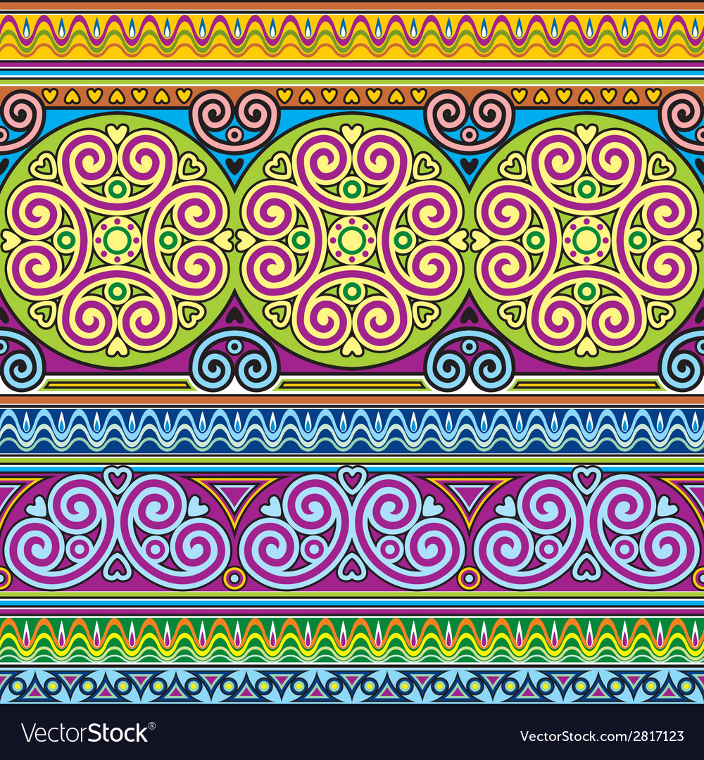 Asian ornament seamless vector | Price: 1 Credit (USD $1)