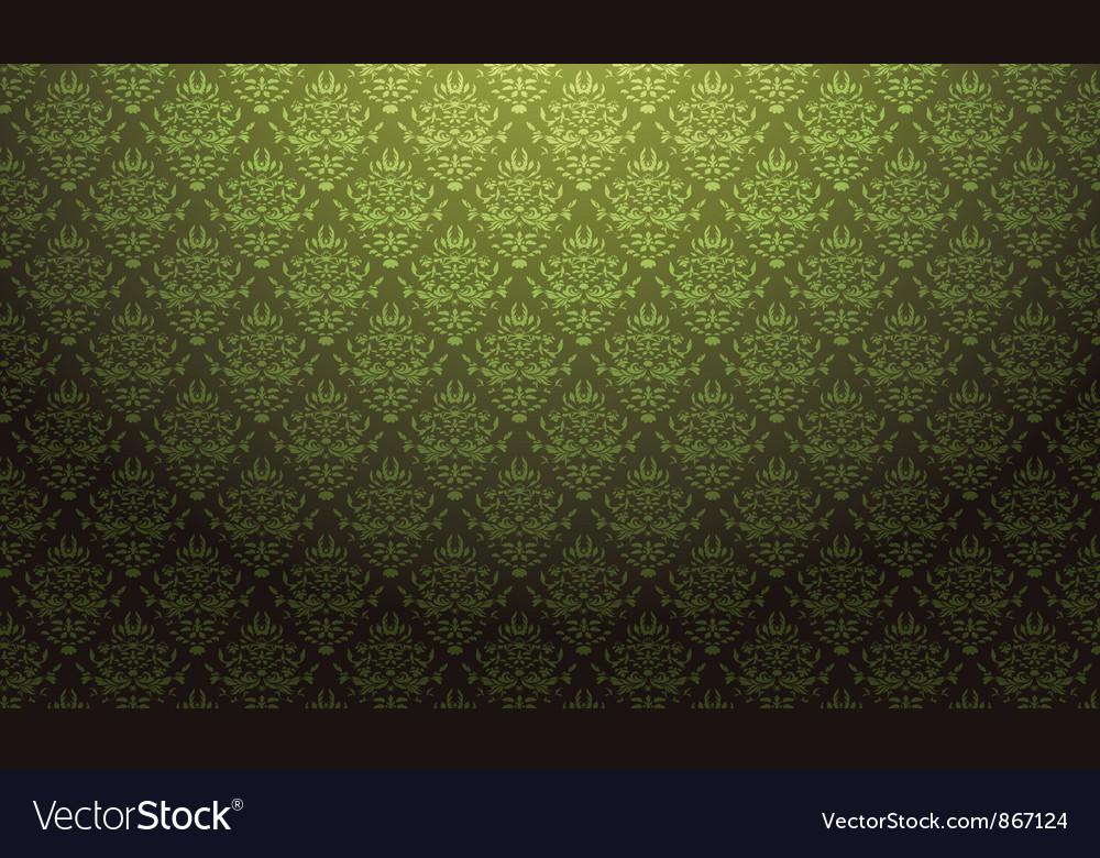 Baroque wallpaper vector