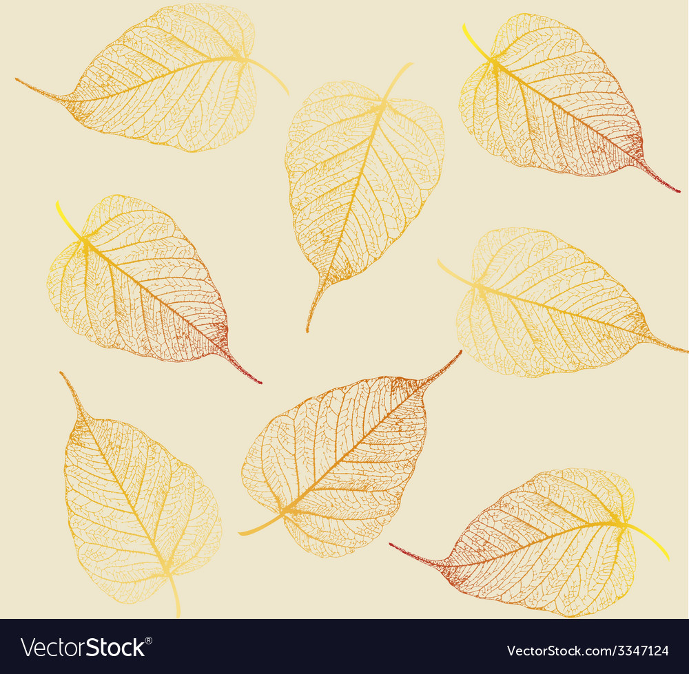 Fresh colorful leaves background vector | Price: 1 Credit (USD $1)