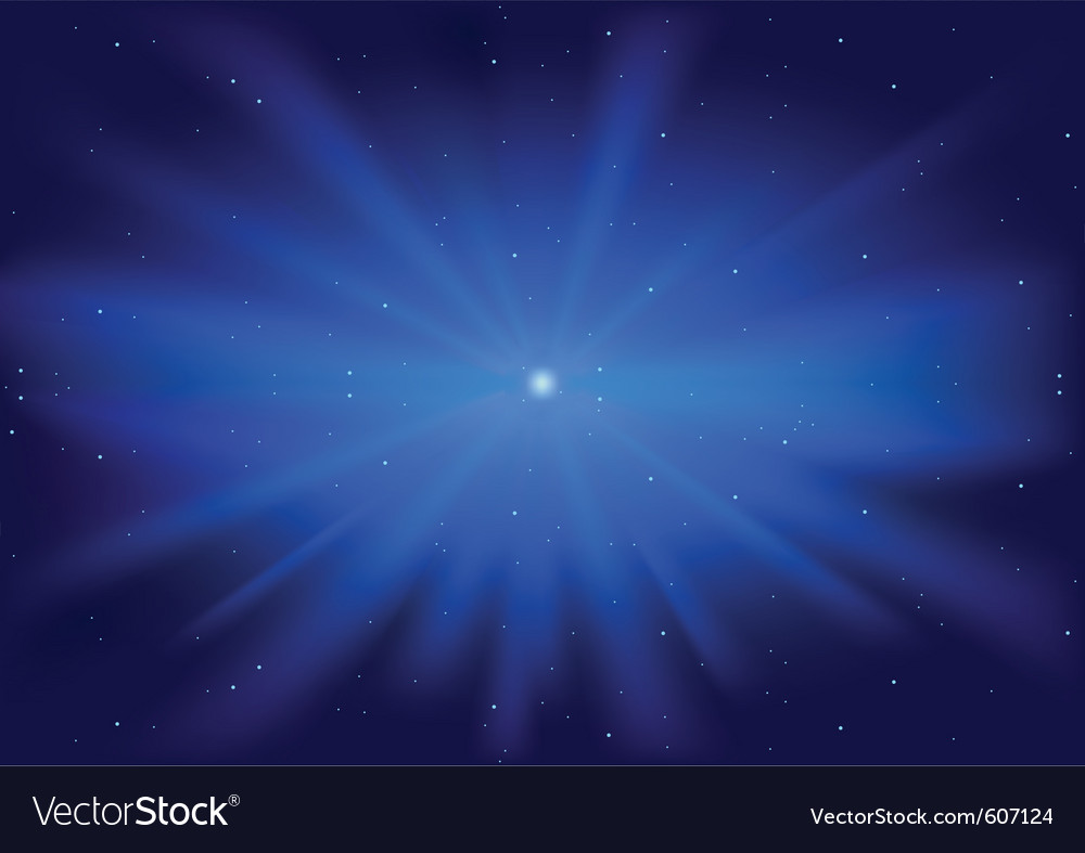 Glowing star vector | Price: 1 Credit (USD $1)