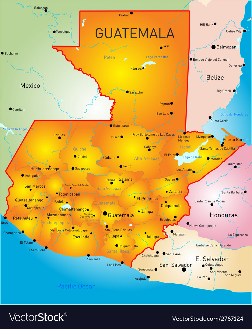 Guatemala vector | Price: 1 Credit (USD $1)