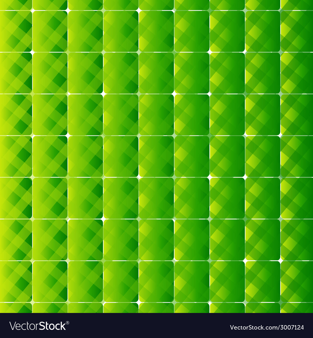 Retro style square and stripes green backgr vector | Price: 1 Credit (USD $1)