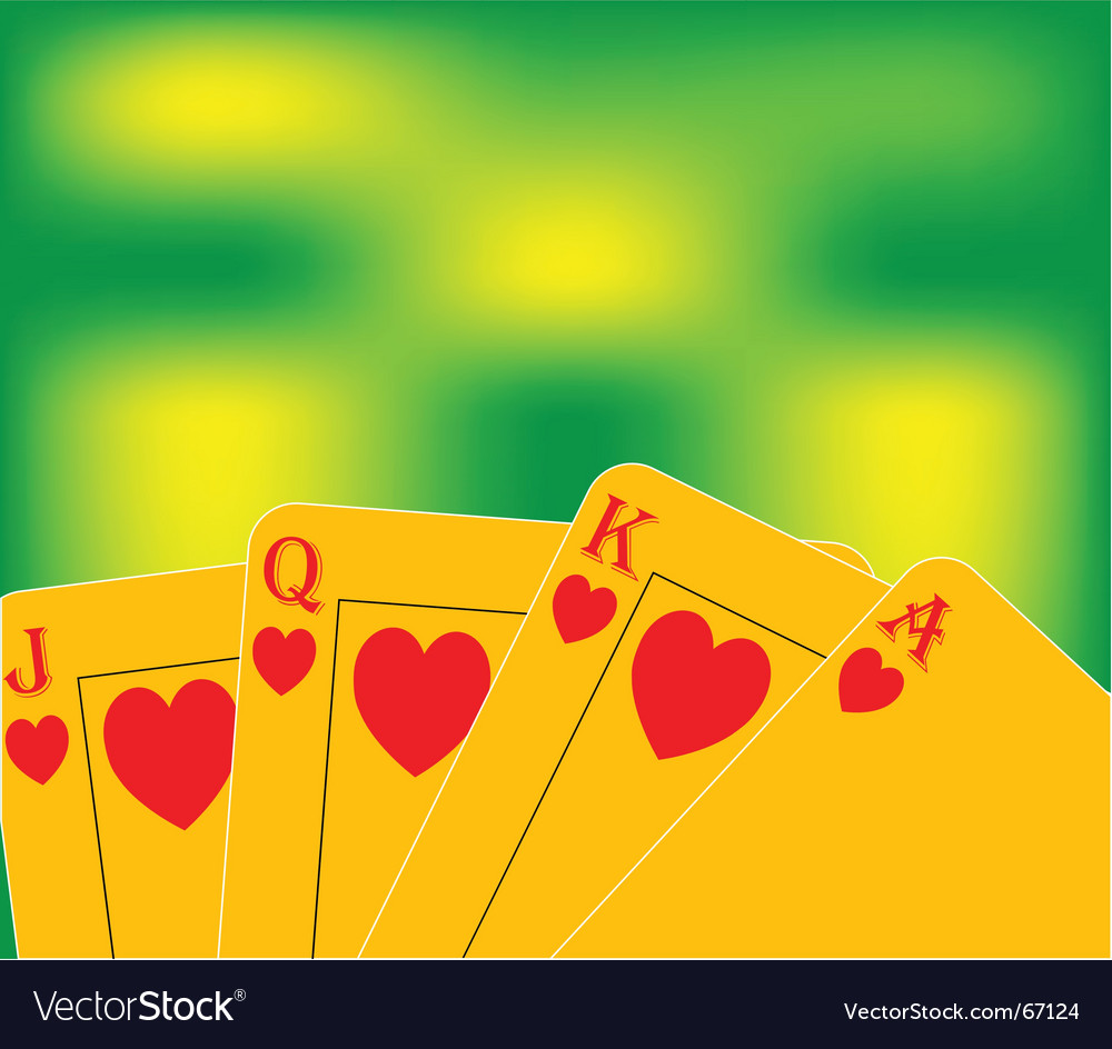 Royal flush vector | Price: 1 Credit (USD $1)
