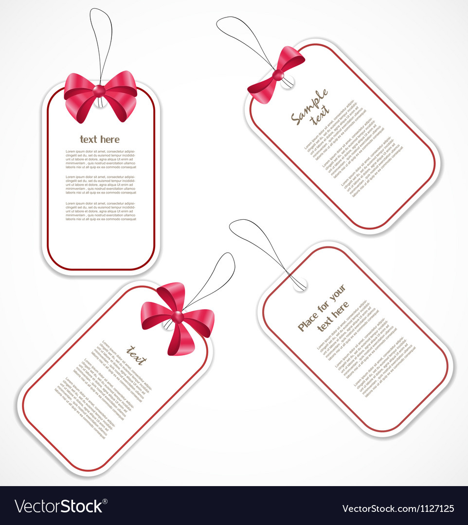 Discount tags vector   Price: 1 Credit (USD $1)