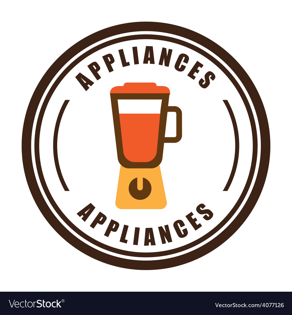 Home appliances vector | Price: 1 Credit (USD $1)