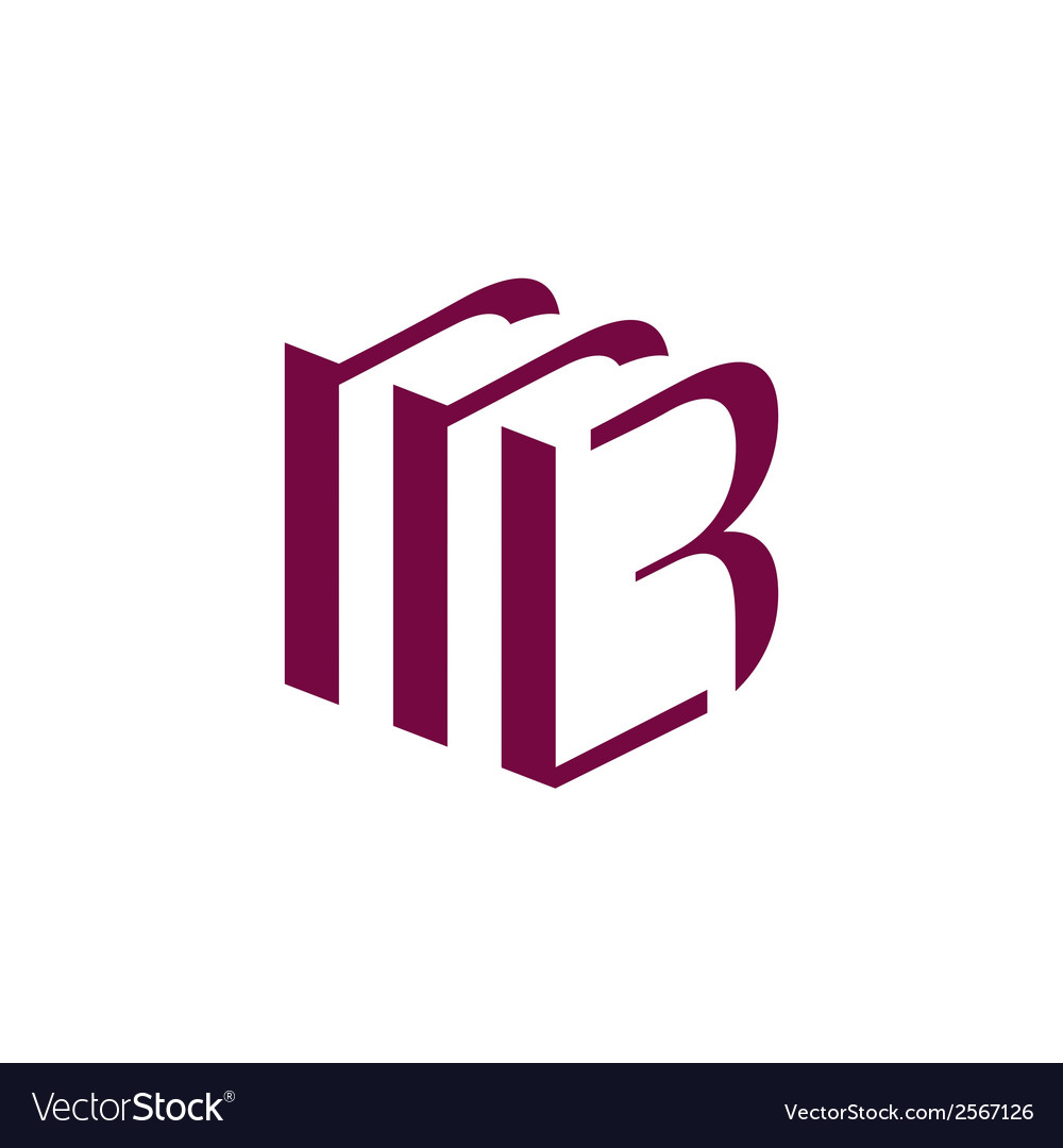 Sign the letter b vector   Price: 1 Credit (USD $1)