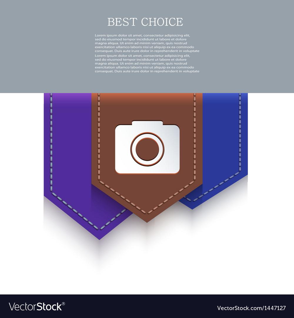 Bookmark icon eps10 vector | Price: 1 Credit (USD $1)