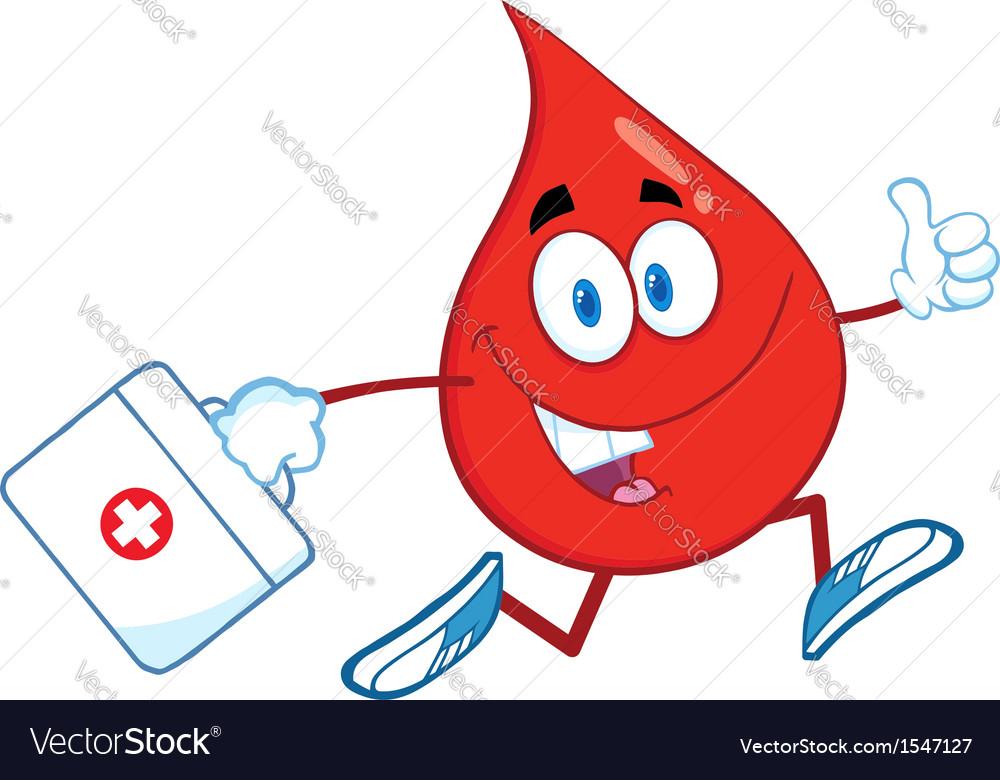 Medical drop of blood vector | Price: 1 Credit (USD $1)