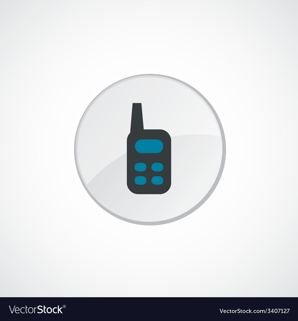 Radio icon 2 colored vector | Price: 1 Credit (USD $1)