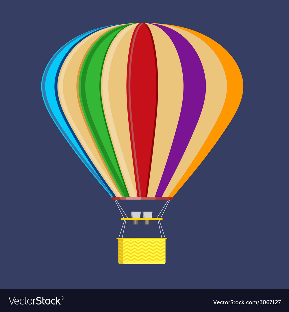 Vivid balloon vector | Price: 1 Credit (USD $1)