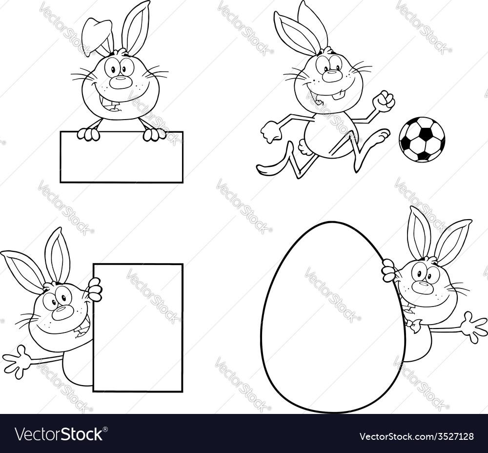 Bunny cartoon design vector   Price: 1 Credit (USD $1)