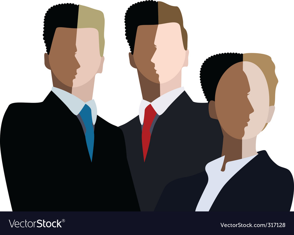Business team vector | Price: 3 Credit (USD $3)